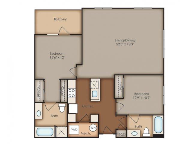 Floor Plan | Del Ray Central