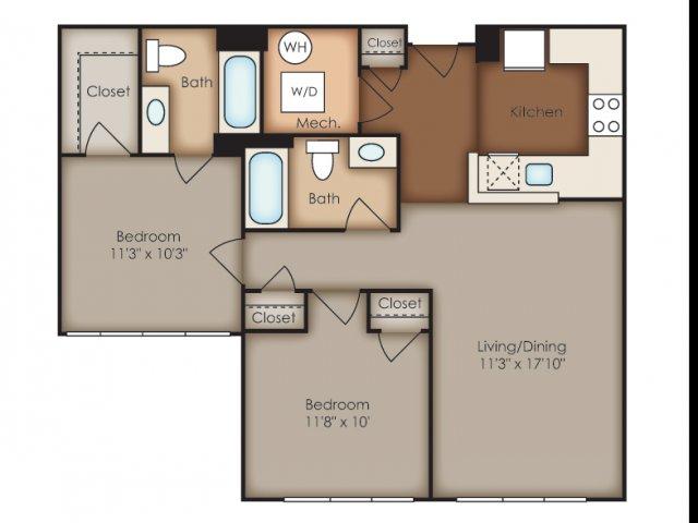 Floor Plan 27 | Del Ray Central