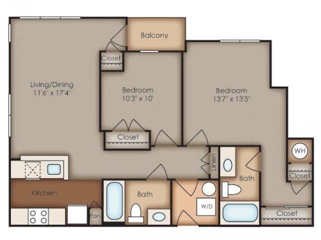 Floor Plan 3 | Del Ray Central
