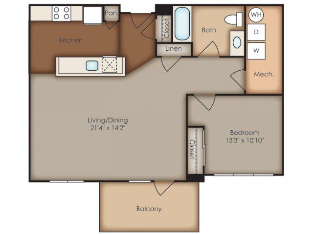 Floor Plan 1 | Del Ray Central