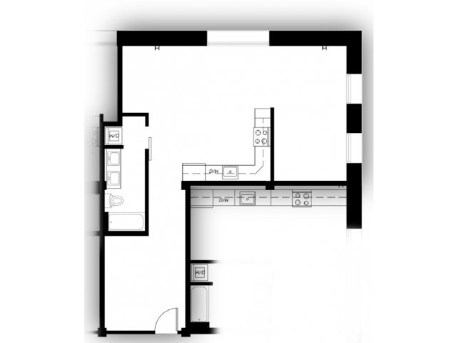 TacomaApartments | Albers Mill Lofts | Floor Plans 8