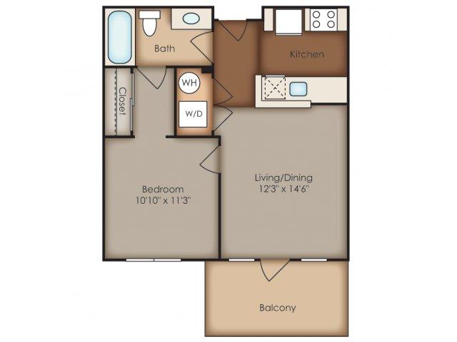 Floor Plan 7 | Del Ray Central