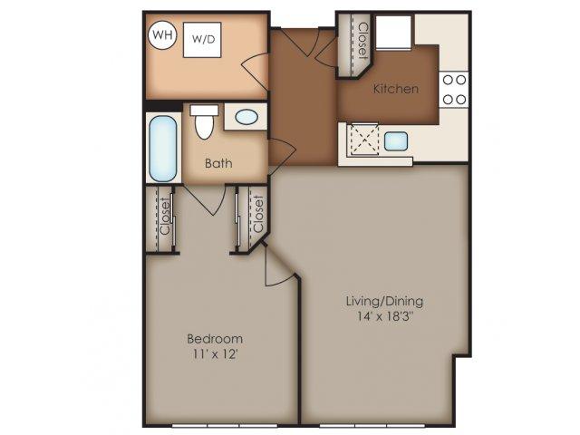 Floor Plan 8 | Del Ray Central