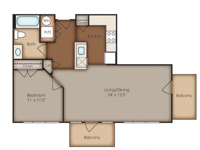 Floor Plan 11 | Del Ray Central