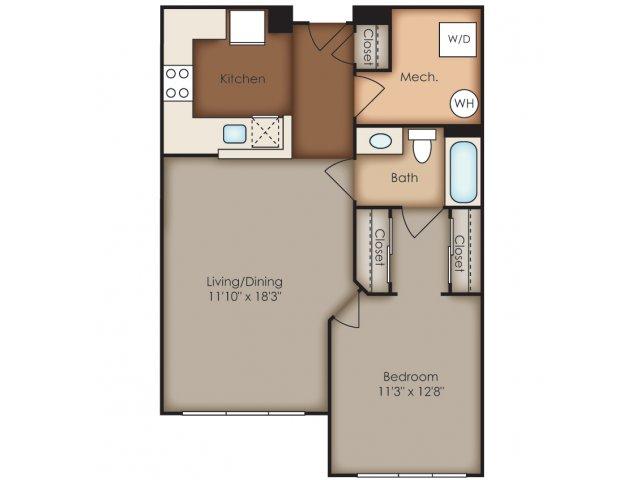 Floor Plan 12 | Del Ray Central