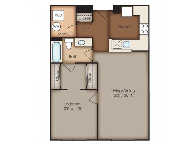 Floor Plan 13 | Del Ray Central