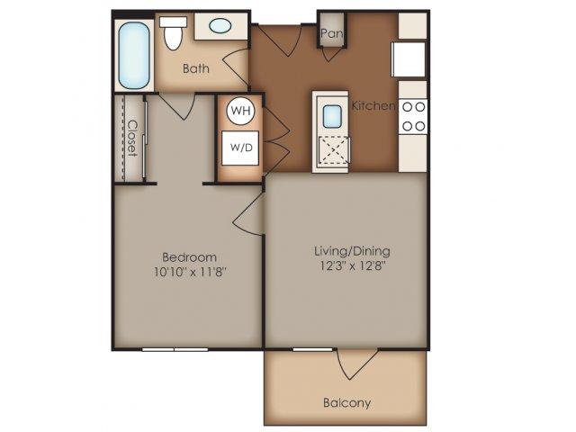 Floor Plan 17 | Del Ray Central