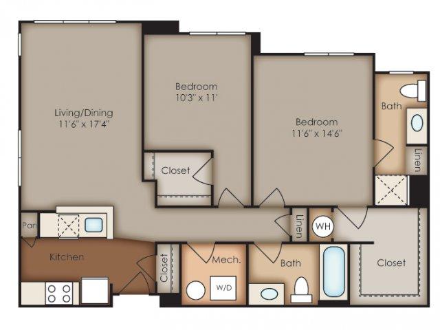 Floor Plan 29 | Del Ray Central