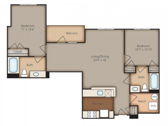 Floor Plan 33 | Del Ray Central