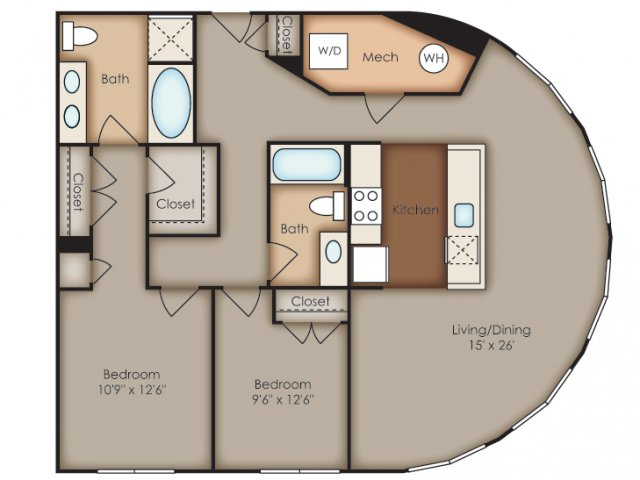 Floor Plan 34 | Del Ray Central