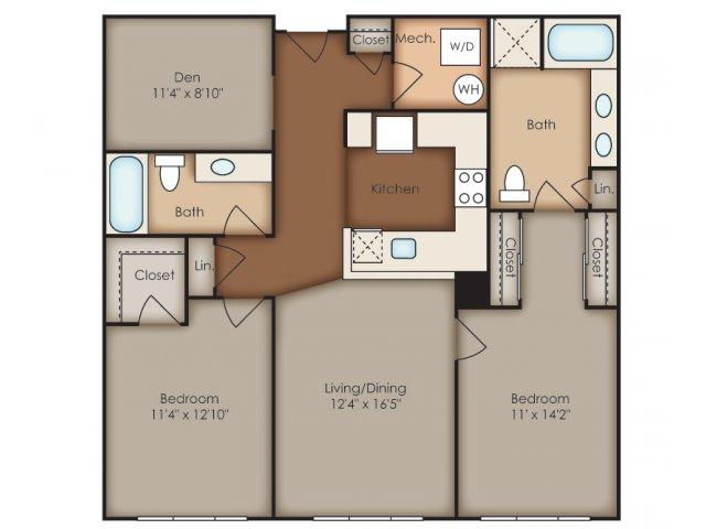 Floor Plan 35 | Del Ray Central