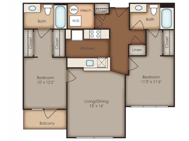 Floor Plan 37 | Del Ray Central