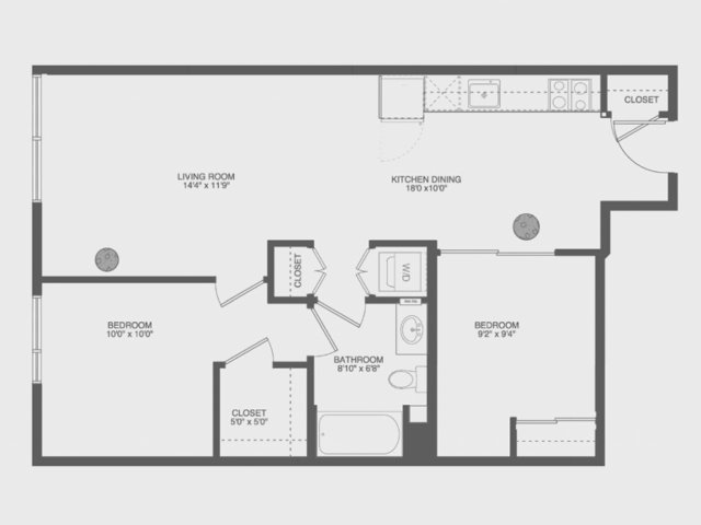 Floor Plan 7 | The Gantry