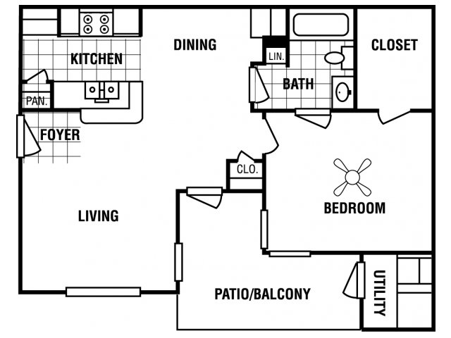 Floor Plan 1 | Carrington Place