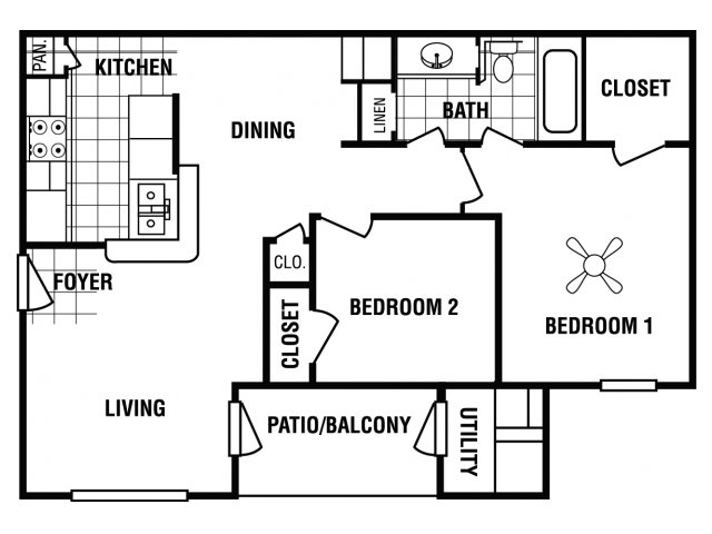 Floor Plan 2 | Carrington Place