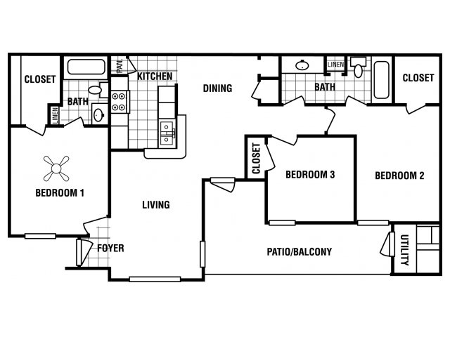 Floor Plan 5 | Carrington Place