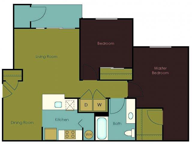 Floor Plan 2 | The Homestead