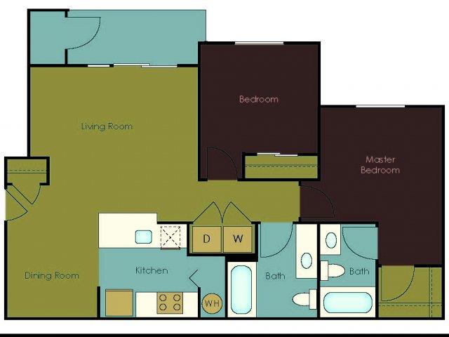 Floor Plan 3 | The Homestead