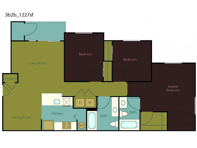 Floor Plan 4 | The Homestead