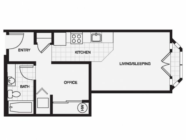Floorplan 1 | The Shelby