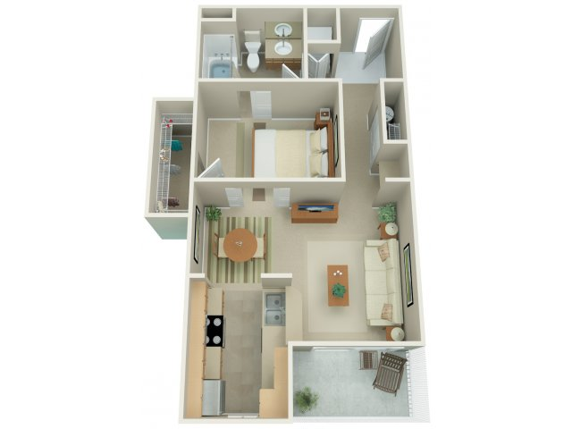 Studio Floor Plan | Apex 4