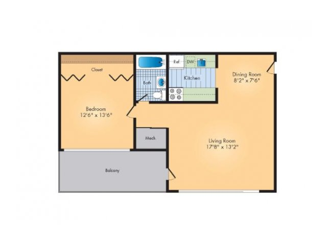 Floor Plan 1 | Rollingwood
