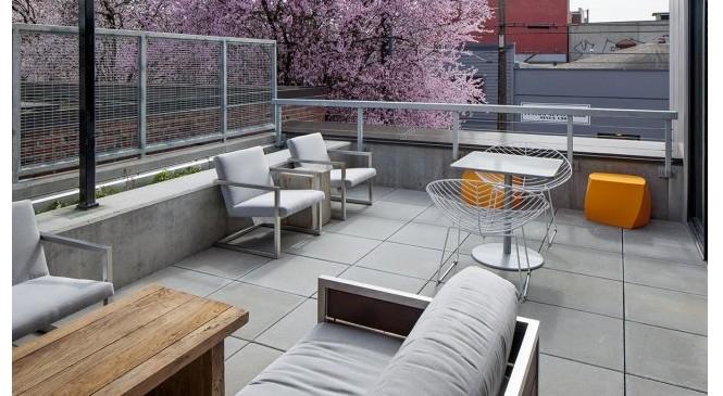 1 Bedroom Apartments Portland Oregon | Outdoor Patio