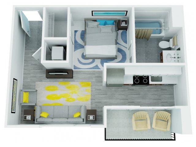 Studio Floor Plan   The Addy