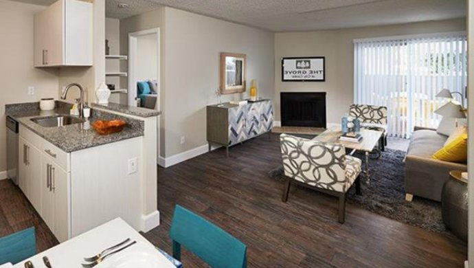 apartments in Aurora CO | Living Room