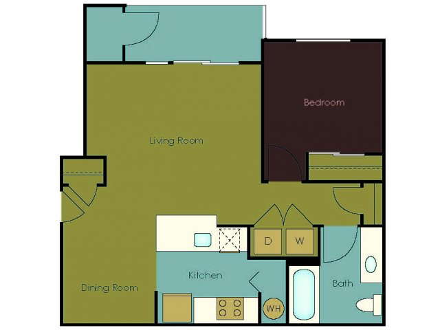Floor Plan 5 | The Homestead