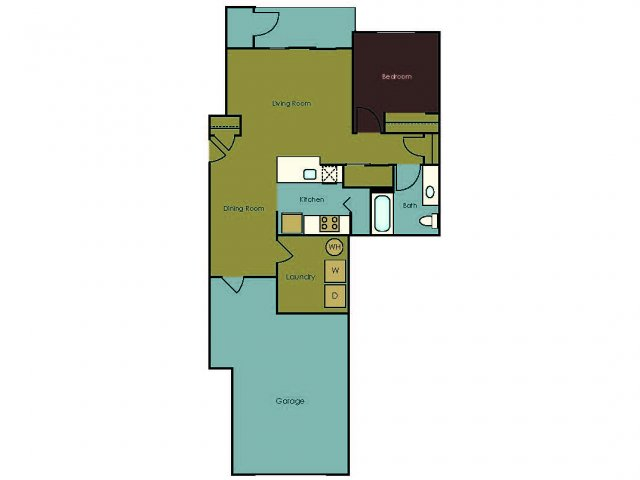 Floor Plan 7 | The Homestead