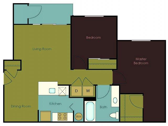 Floor Plan 8 | The Homestead