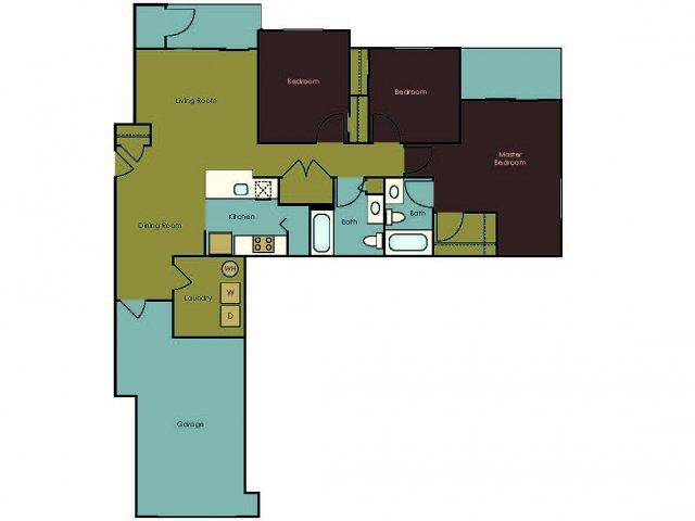 Floor Plan 11 | The Homestead