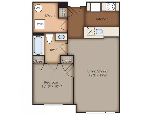 Floor Plan 9 | Del Ray Central