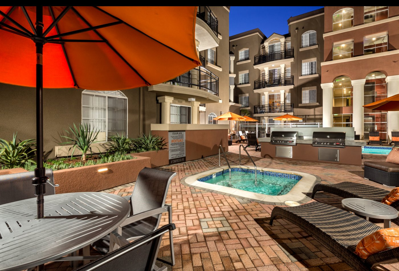 Community BBQ Grills | Apartments In Los Angeles | The Preston Miracle Mile
