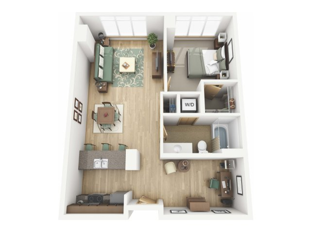 Floor Plan 95 | Riva on the Park