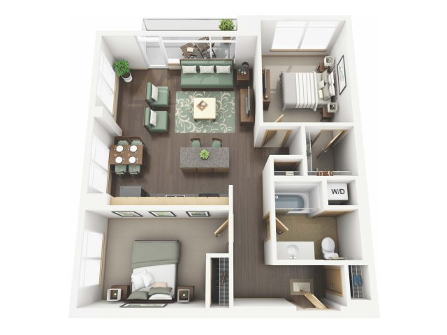 Floor Plan 34 | Riva on the Park