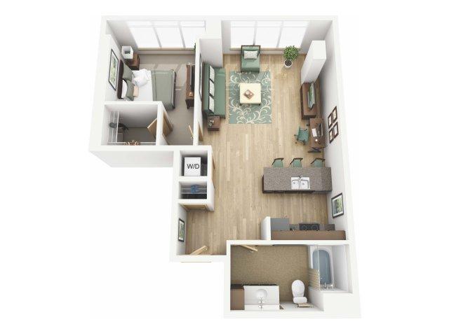 Floor Plan 19 | Riva on the Park