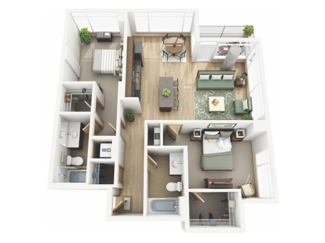 Floor Plan 46 | Riva on the Park