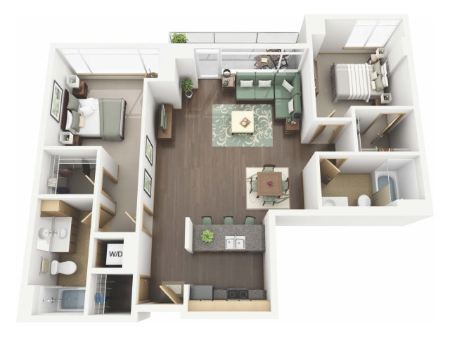 Floor Plan 53 | Riva on the Park