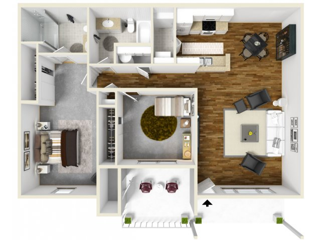 Floor Plan 1 | The Bailey at Amazon Creek