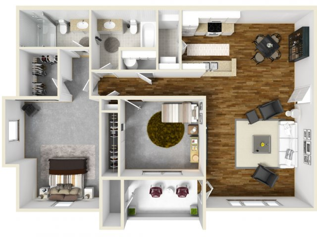 Floor Plan 2 | The Bailey at Amazon Creek