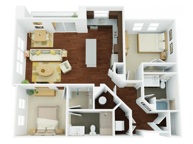 Floor Plan 14 | The Stories