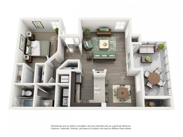 Channel Point | Floor plan 2