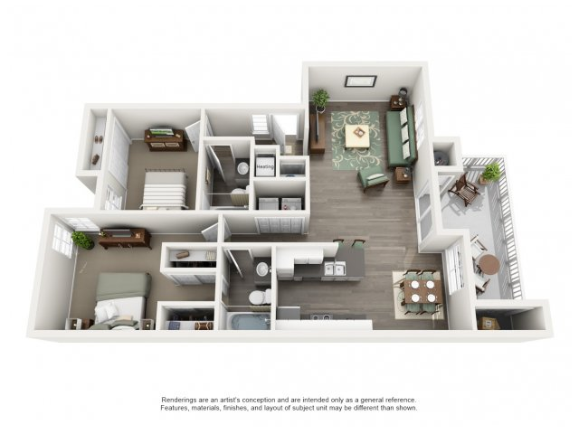 Channel Point | Floor plan 5