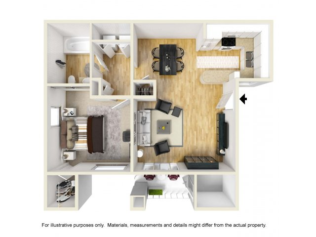 Beau For The 1 Bedroom Floor Plan.