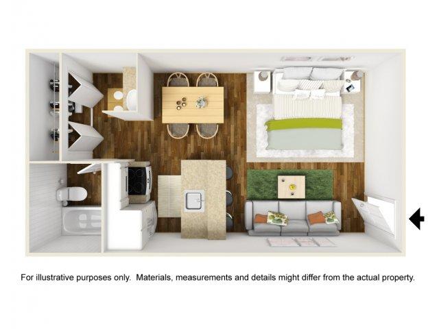 Floor Plan 2 | Scottsdale Gateway II 2