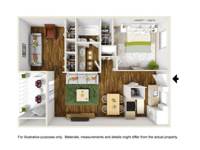 Floor Plan 7 | Scottsdale Gateway II
