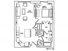 Floor Plan 3 | Pallas at PikeRose