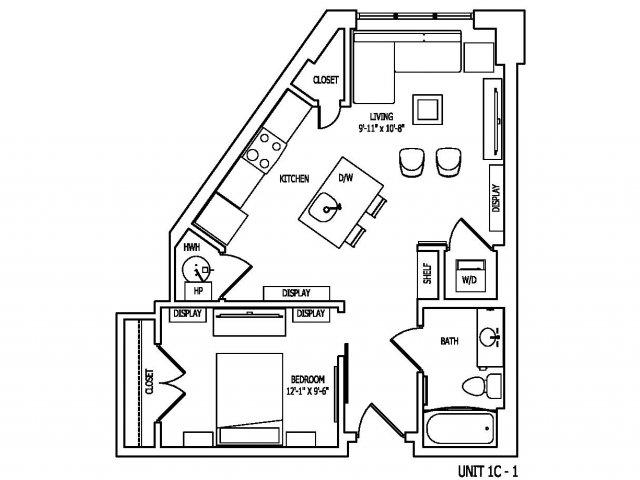 Floor Plan | Pallas at PikeRose